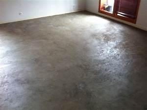 comment peindre un sol en ciment bricobistro With peinture sol ciment exterieur