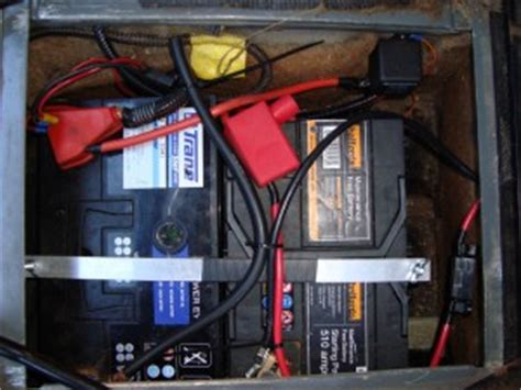 auxillary fusebox install land rover technical
