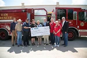 Bertram Volunteer Fire Department gets new roof thanks to ...