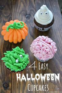 4 Easy Halloween Cupcake Ideas — Sprinkled With Jules