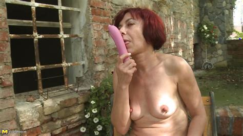 Gysela In Mature Redhead Has Fun With A Sex Toy Hd