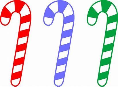 Clipart Christmas Transparent Candy Candycane Canes Clipground