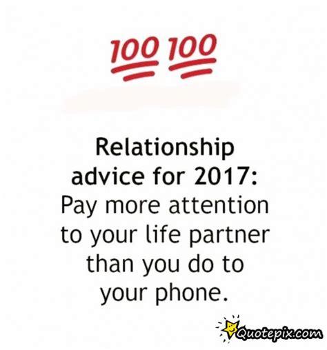 Best Relationship Advice For 2017  Quotepixcom Quotes