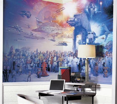 wars saga xl wallpaper mural 10 5 x 6 wall sticker shop
