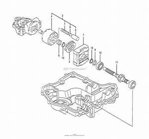 Husqvarna Tuff Torq K61 Transaxle Parts Diagram For Motor