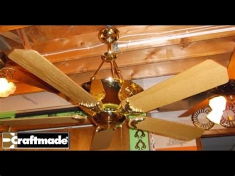 craftmade crescent ceiling fan youtube