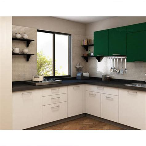 L Shaped Modular Kitchen, Contemporary Kitchen Designer