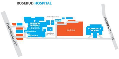 Rosebud Hospital Site Map & Car Parking (132 Kb