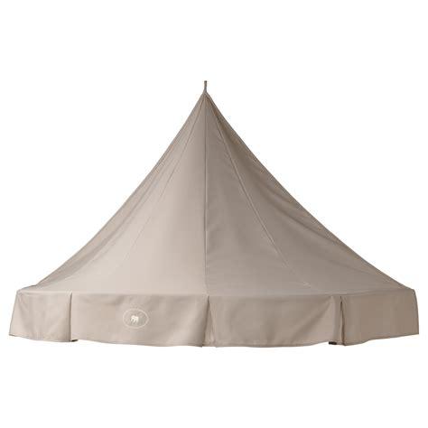 charmtroll bed canopy beige ikea
