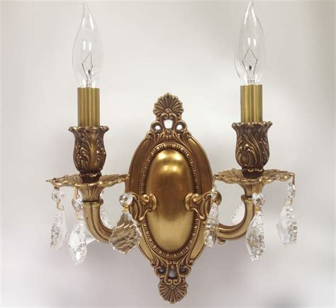 Vintage Wall Sconce - canton 9 w medium vintage wall sconce grand light