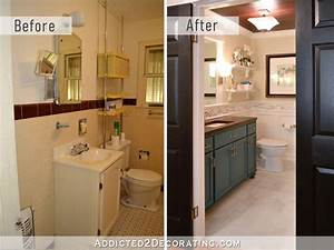 Diy, Bathroom, Remodel, Before, And, After