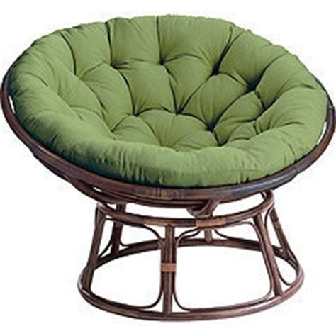 Papasan Chair Frame Brown by Large Nest Chair Cushion Papasa And Able