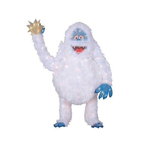 pre lit abominable snowman cute lawn decoration from kmart