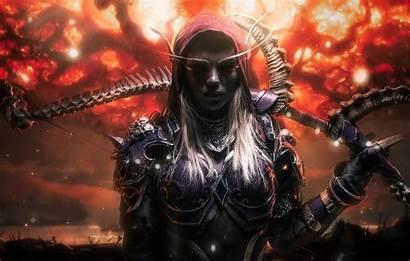 Warcraft Elf Night Wallpapers