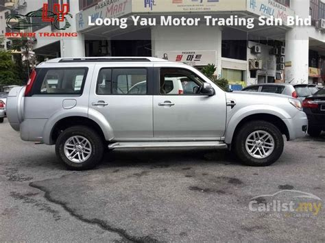 ford everest  xlt   selangor manual suv silver