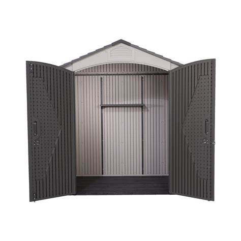 Lifetime Products Gable Storage Shed 7x7 by Garden Sheds Lifetime 7x7 Heavy Duty Plastic Shed