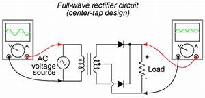 feee fundamentals of electrical engineering and With full wave diode rectifier circuit diagram for centre tapped