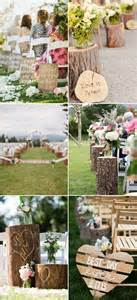 country chic wedding invitations 40 great wedding aisle ideas for your big day