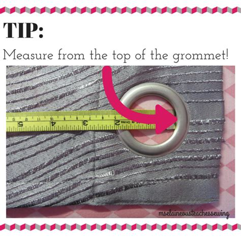 ms elaineous teaches sewing the right way to measure hem