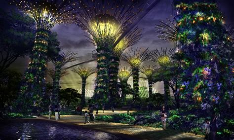 singapore gardens by the bay gardens by the bay singapore events sg magazine