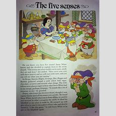 Snow White Short Disney Story About The 5 Senses, Good Introduction To Lesson About The 5