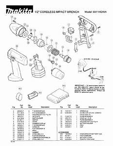 Makita Impact Driver 6911hdwa User Guide