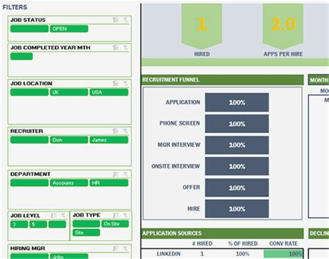 applicant tracking system template  excel