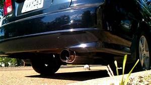 2004 Honda Civic Ex N1 Style Muffler