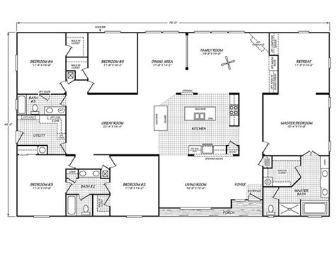 Fleetwood Mobile Home Floor Plans by 25 Great Ideas About Fleetwood Homes On