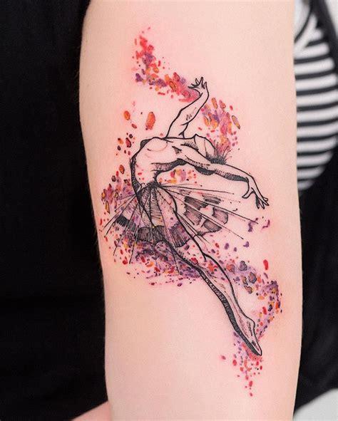65+ Lovely Dance Tattoo Designs  Nenuno Creative