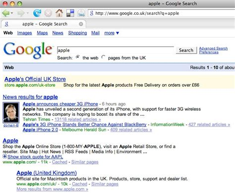Why Apple Isn't Uk Enough For Google