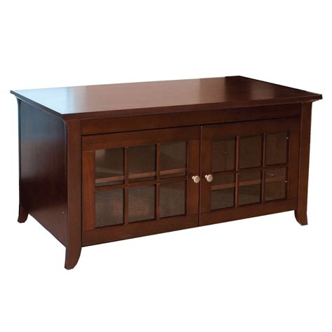 """Tech Craft  Cre48  48"""" Wide Walnut Credenza  Sears Outlet"""