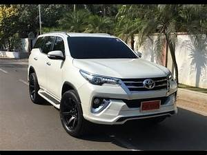 Customised Toyota Fortuner with a 'Fiar Design' Body Kit