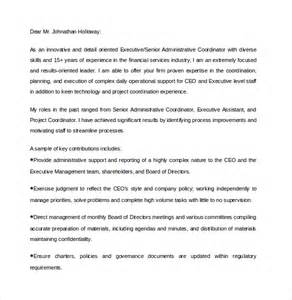 how to make a resume free cover letter sle executive assistant cover letter 9 download free documents in pdf word