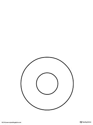 letter o template trace letter o and connect pictures worksheet 42053