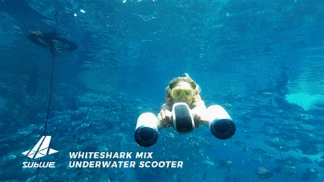 Water Scooter Sublue by Whiteshark Mix Water Scooter Double Propellers Indiegogo