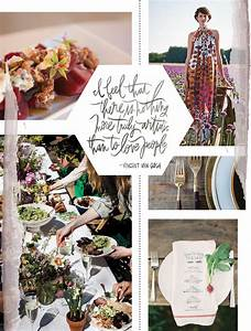 Mood Board Mondays Rustic Foodie Feast - Continental Catering