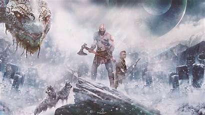 God War 4k Wallpapers Resolution Author Backgrounds