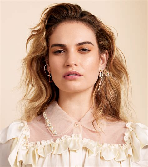 Lily James Is Ready to Be Seen as More Than a Disney ...