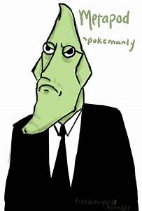MANLY METAPOD by Oranjes on DeviantArt