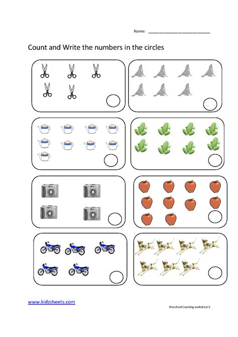 If you want the answers, either bookmark the worksheet or print the. Preschool Counting Worksheets Free Printable Download Them ...