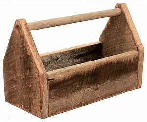 Wood Toolbox - Rustic - Garage And Tool Storage - by