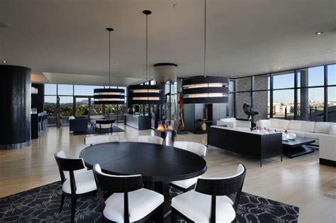 astonishing modern penthouse apartment   degree