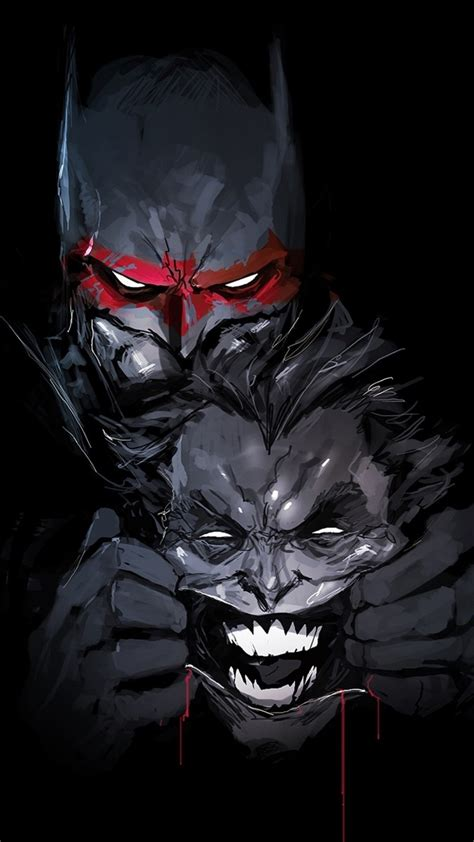 Search your top hd images for your phone, desktop or website. Download 1080x1920 Batman, Joker, Dc Universe, Comics ...