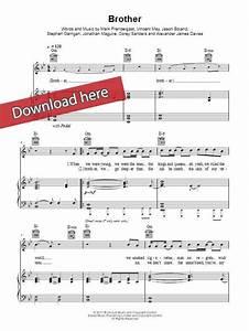 Kodaline Brother Sheet Music, Piano Notes, Chords | Sheet ...
