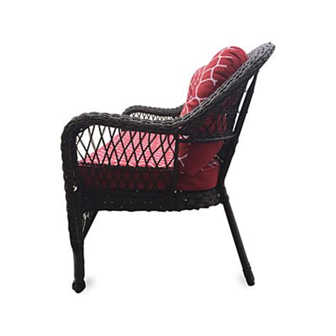wilson fisher 174 nantucket resin wicker settee with
