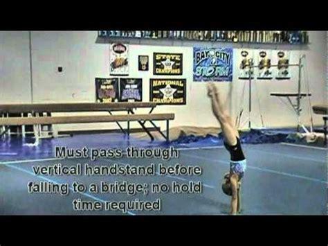 Usag Level 4 Floor Routine by Usag Level 4 Floor Routine Tutorial Flogymnastics