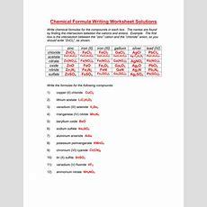 Worksheet Chemical Formula Writing Worksheet Grass Fedjp Worksheet Study Site