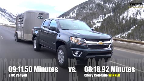 chevy colorado gmc canyon ike towing time  fast
