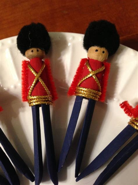 clothespin soldier ornaments   trash